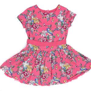 GAP Sarah Jessica Parker Pink Rabbit Dress XL